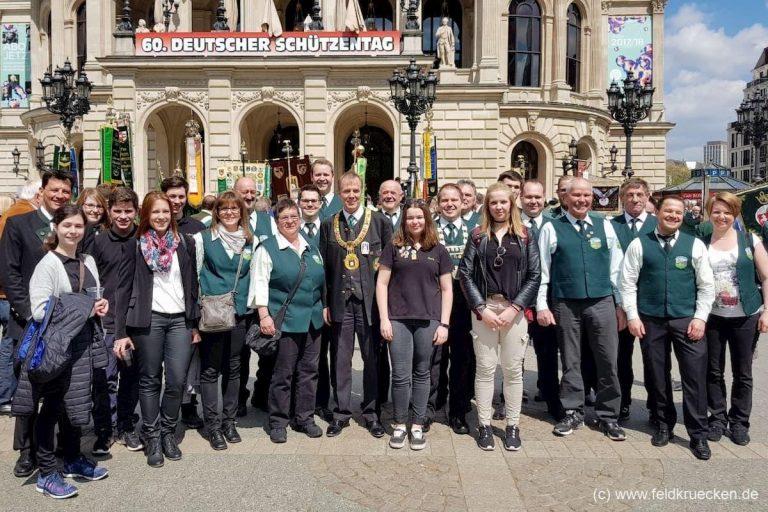 SV Feldkrücken beim Deutschen Schützentag in Frankfurt