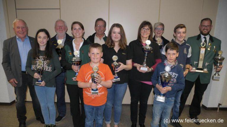 Rebgeshain dominiert Stadtmeisterschaft – Zehn von zwölf Titeln geholt