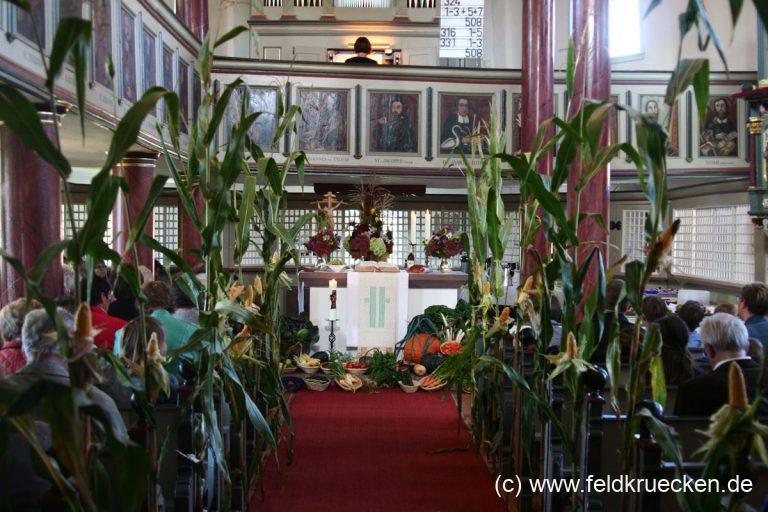 Feldkrücken feierte Erntedankfest mit Mundartgottesdienst