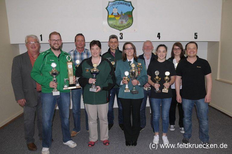 Rebgeshain holt zwölf von 13 Stadtmeistertitel