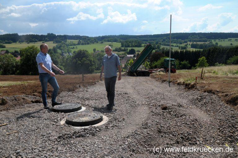 Baugebiet Feldkrücken wird weiter erschlossen – noch 10 Bauplätze frei