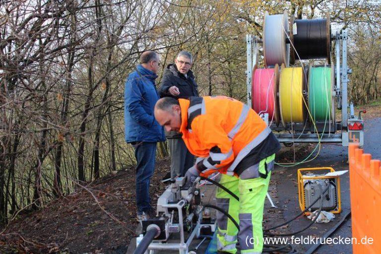 """Glasfaser für Feldkrücken: """"Auch kleine Dörfer werden erschlossen"""""""