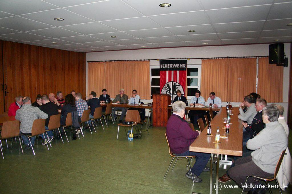 JHV der FFW Feldkrücken in 2018