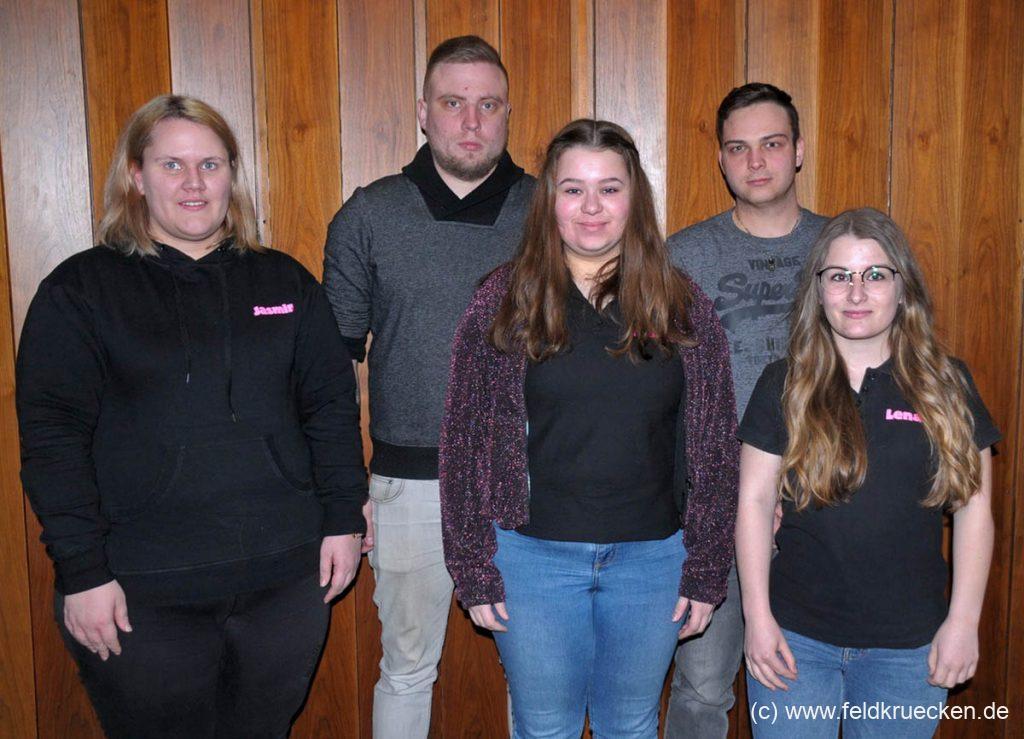 Vorstand Jugendarbeitskreis Feldkrücken 2018