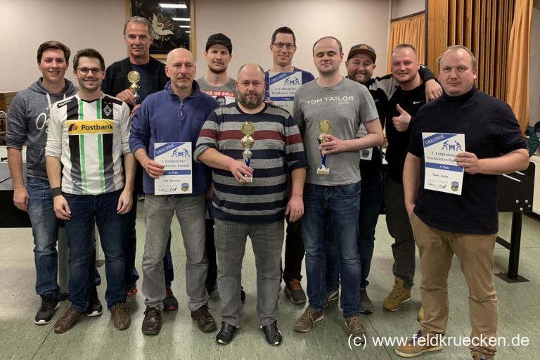Tisch-Kicker-Turnier in Feldkrücken verzeichnet Teilnehmer-Rekord