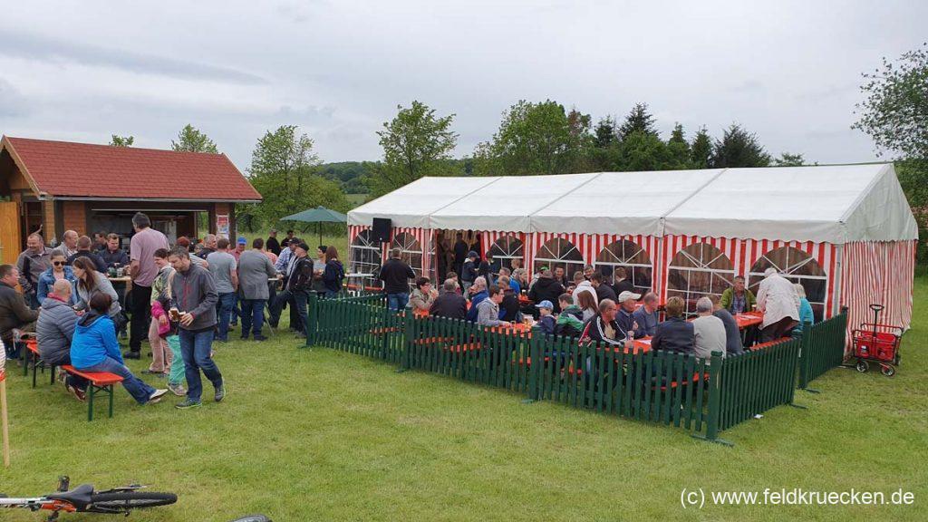 Grillfest in Feldkrücken