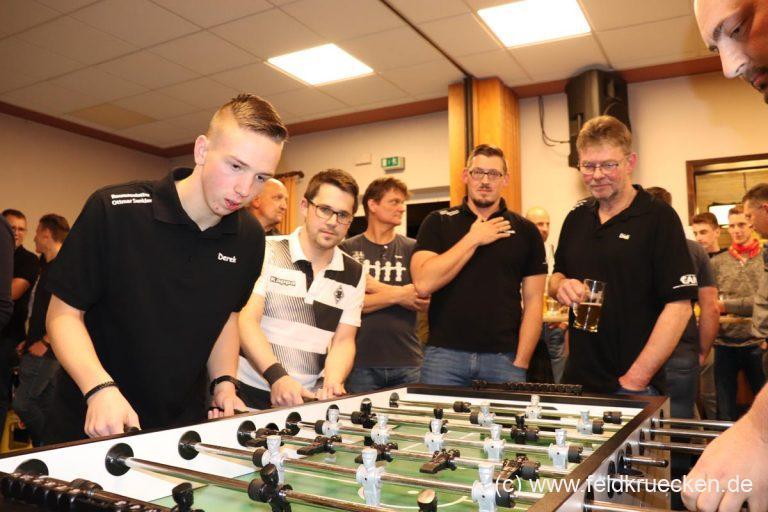 Tischkicker-Turnier 2019 in Feldkrücken