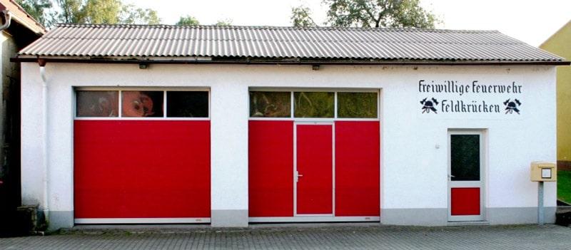 Feuerwehr-Gerätehaus Feldkrücken