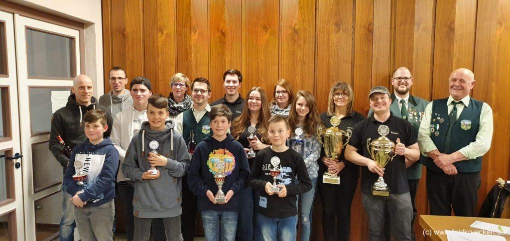 Jahreshauptversammlung Schützenverein Feldkrücken 2019