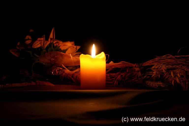Kerze - Kerzenlicht