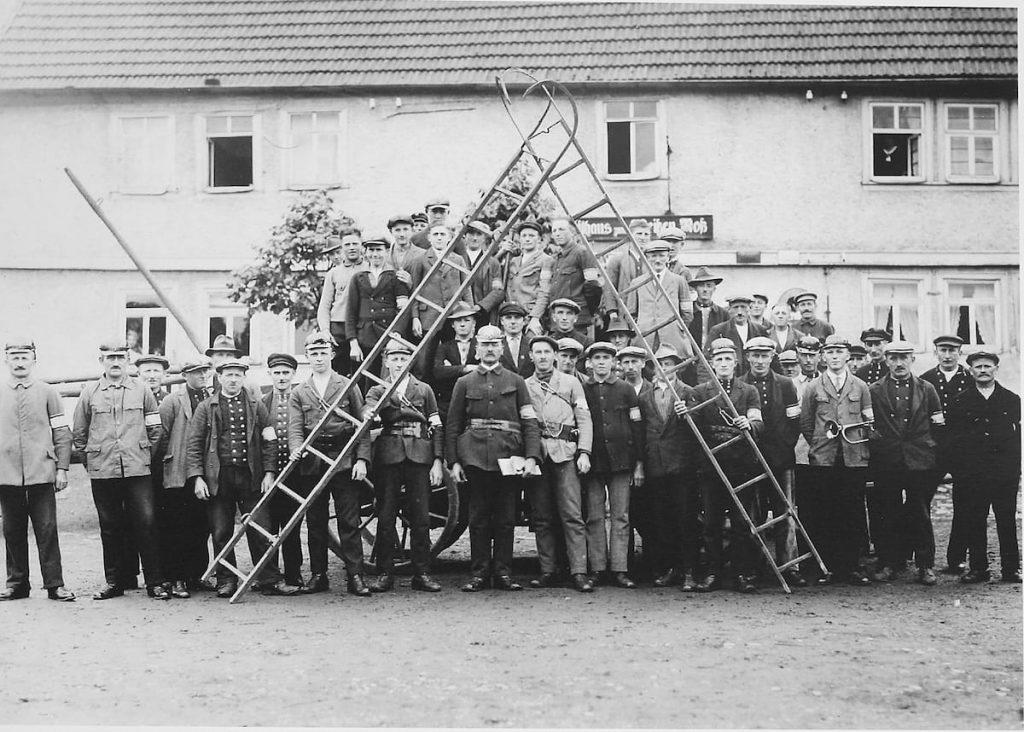 Feuerwehr Feldkrücken 1932
