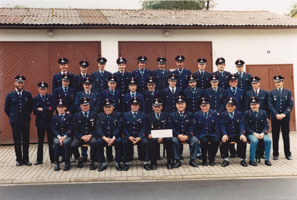 Feuerwehr Feldkrücken 1989