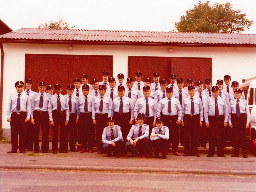 Feuerwehr Feldkrücken 1982